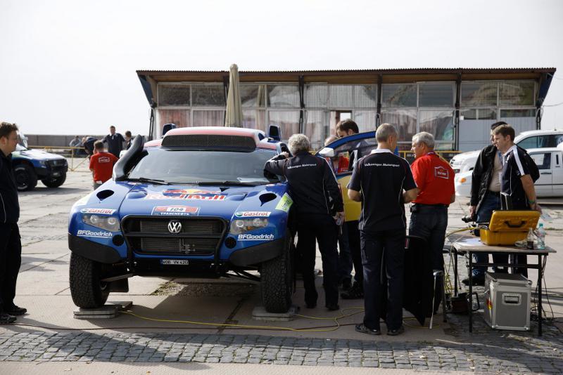 Silk Way Rallye 2010 - Technische Abnahme