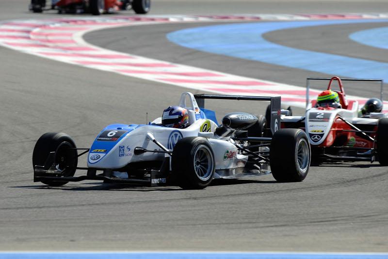Formel3 Cup 2010 Edoardo Mortara in Le Castellet
