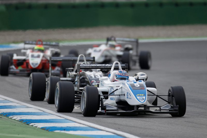 Formel3 Cup 2010 Edoardo Mortara in Hockenheim