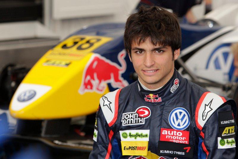 Formel3 Cup Carlos Sainz jr