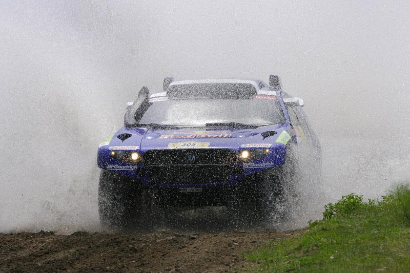Rallye Dakar 2009 Giniel de Villiers und Dirk von Zitzewitz