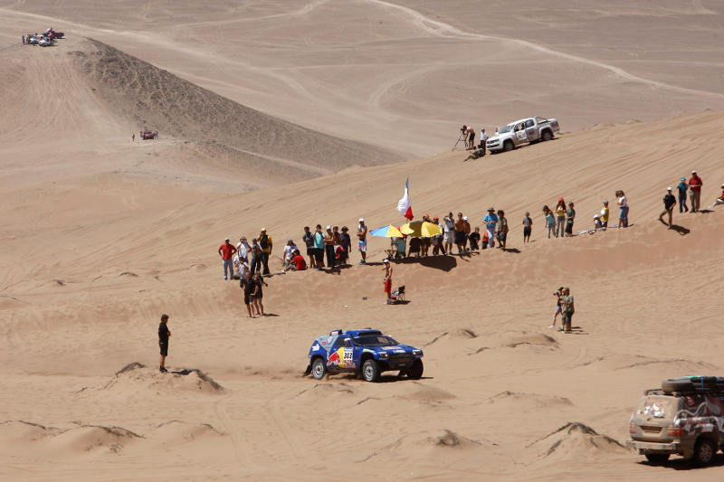 DAKAR ARGENTINA CHILE 2010 - STAGE 9 - COPIAPO (CHI) / LA SERENA (ARG) - 11/01/2010- PHOTO : FREDERIC LE FLOC H / DPPI
