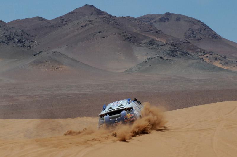 DAKAR ARGENTINA CHILE 2010 - STAGE 4 - FIAMBALA (CHI) / COPIACO (CHI) - 05/01/2010- PHOTO : ERIC VARGIOLU / DPPI
