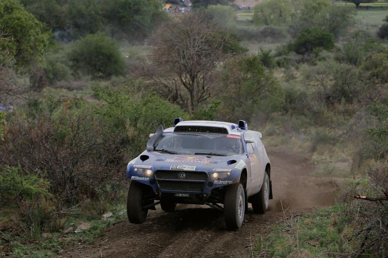 Rallye Dakar 2010 Giniel de Villiers und Dirk von Zitzewitz