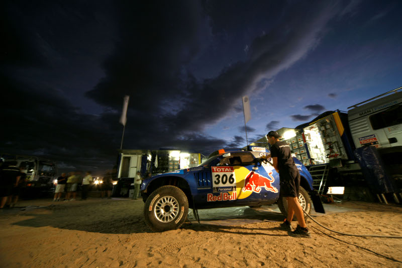 Rallye Dakar 2010 Service