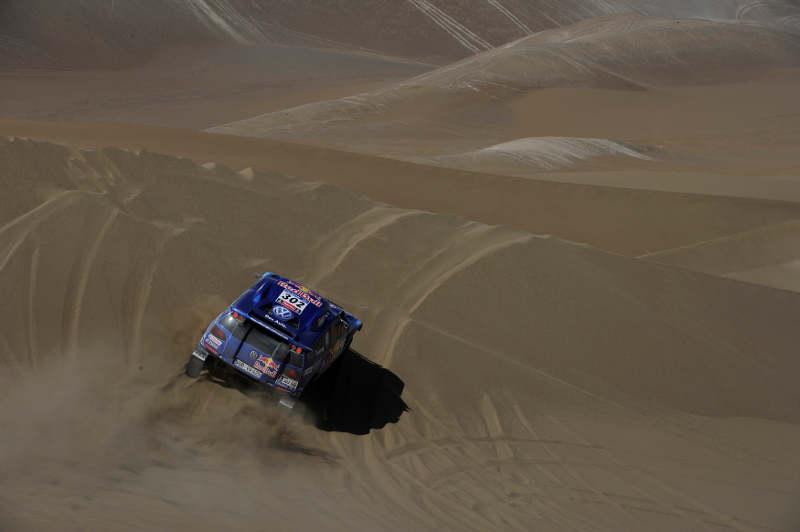 DAKAR ARGENTINA CHILE 2011 - STAGE 6 : IQUIQUE (CHI) / ARICA (CHI) - 07/01/11 - PHOTO : DPPI