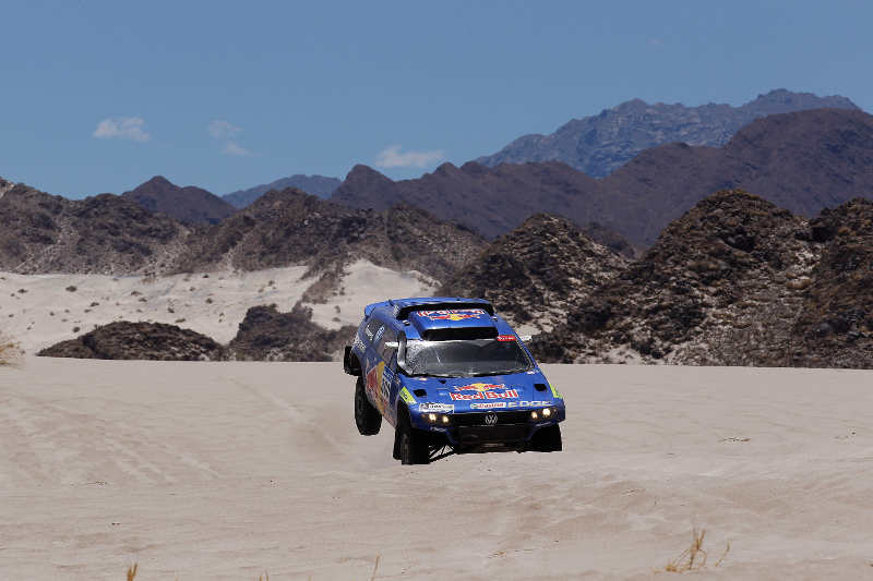 DAKAR ARGENTINA CHILE 2011 - STAGE 10 : COPIAPO (ARG) / CHILECITO (ARG) - 12/01/11 - PHOTO : FREDERIC LE FLOC H / DPPI