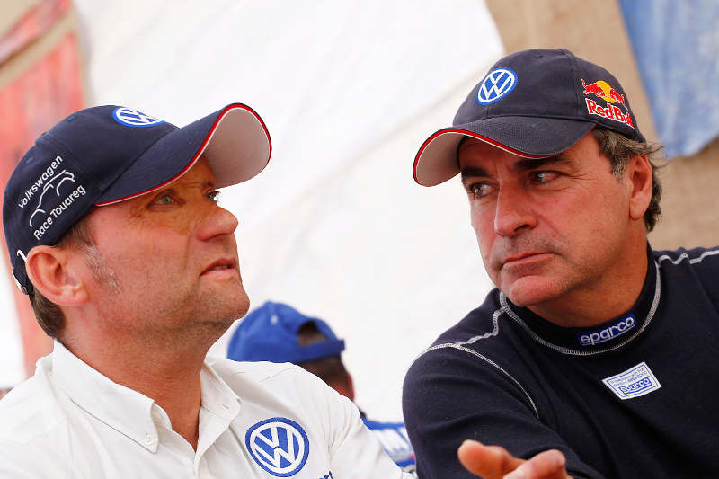 Rallye Dakar 2011: Kris Nissen und Carlos Sainz